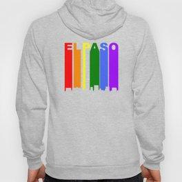 El Paso Gay Pride Rainbow Cityscape Hoody