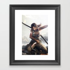 Hard game l.C. Framed Art Print