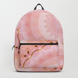 Rose Healing Mandala Backpack