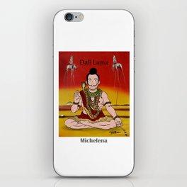 Dalí lama iPhone Skin
