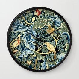 "William Morris ""Birds and Acanthus"" Wall Clock"