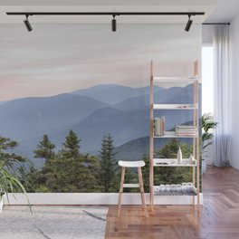 Hazy Mountains Wall Mural