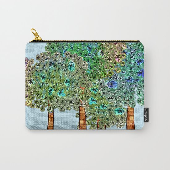 Tree Grove Carry-All Pouch