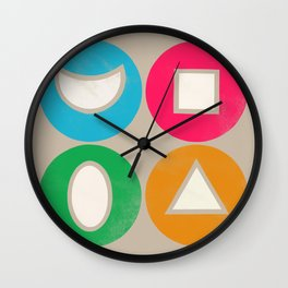 elements 1 Wall Clock