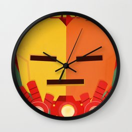 ironman fan art Wall Clock