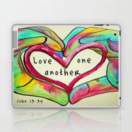 Love One Another John 13:34 Laptop & iPad Skin