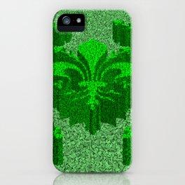 Florentine Green Garden iPhone Case