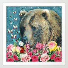 Summer Garden 3 Art Print