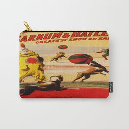 Vintage poster - Circus Carry-All Pouch