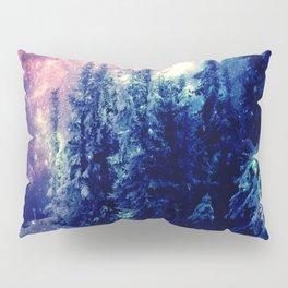 Galaxy Forest : Deep Pastels Pillow Sham