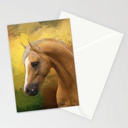 Palomino horse Stationery Cards