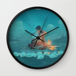 jon bellion album 2020 dede5 Wall Clock
