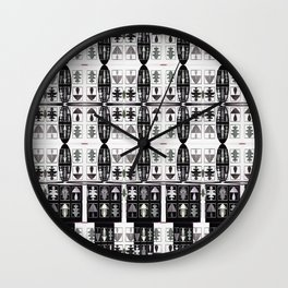 Internet of Everything Optical Illusions Wall Clock