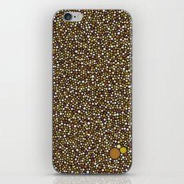 Yellow Dot Color Design iPhone Skin