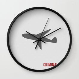Criminal Minds - Minimalist Wall Clock