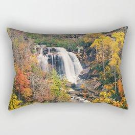 Autumn Waterfall Rectangular Pillow