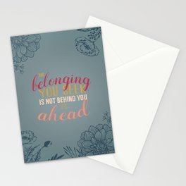 belonging Stationery Cards