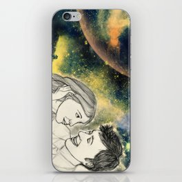 When we're together iPhone Skin