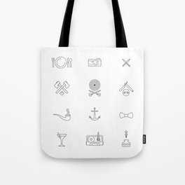 Hipster's Day Tote Bag