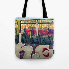 Departure with Ghosts Tote Bag