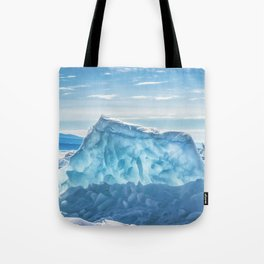 Pressure ridge of lake Baikal Tote Bag