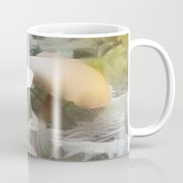 Mushrooms Needles Mosses Coffee Mug