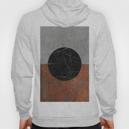 Abstract - Marble, Concrete, Rusted Iron Hoody