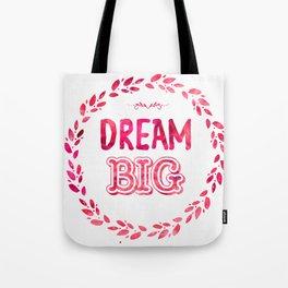 Dream Big Hotlips color Tote Bag