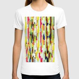 bohemian abstract pattern T-shirt