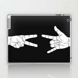 Peace Love and Rock N Roll Laptop & iPad Skin