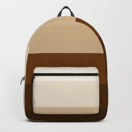 Coffee Liqueur and Cream Mix - Abstract Backpack