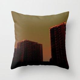 - la ville - Throw Pillow