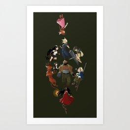 FFVII Art Print