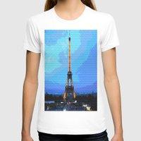 eiffel T-shirts featuring Eiffel by osile ignacio