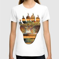 western T-shirts featuring WESTERN GOLD by INA FineArt