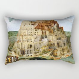 The Tower Of Babel Rectangular Pillow