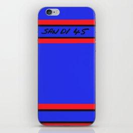 San Di 45 iPhone Skin