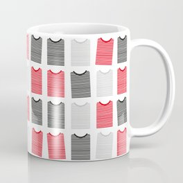 Striped Tee's Coffee Mug