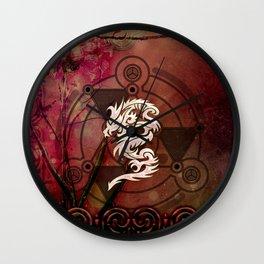 Wonderful chinese dragon Wall Clock