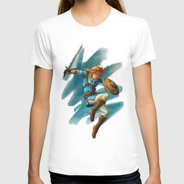 Link (The legend of Zelda Breath of the wild) T-shirt
