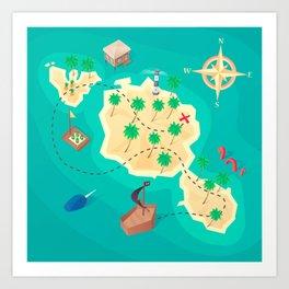 Tahiti Treasure Art Print