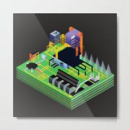 Stimulacrum Metal Print