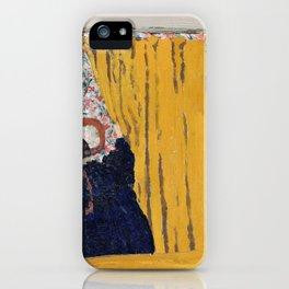 The Yellow Curtain - Digital Remastered Edition iPhone Case