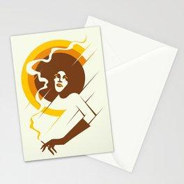 Retropolitan (warm) Stationery Cards