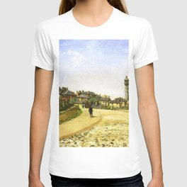 Upper Norwood Chrystal Palace London 1870 By Camille Pissarro | Reproduction | Impressionism Painter T-shirt