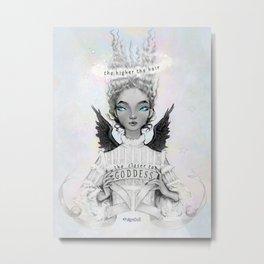 Pidgin Doll : Goddess Metal Print