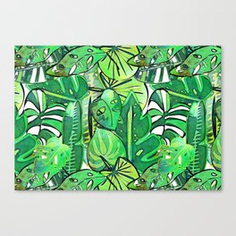 Bohemian Jungle Canvas Print