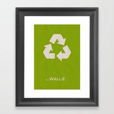 Pixar's Wall·E Framed Art Print