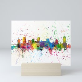 Nashville Tennessee Skyline Mini Art Print