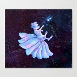 Vulpix Alola Wishing on a Star Canvas Print